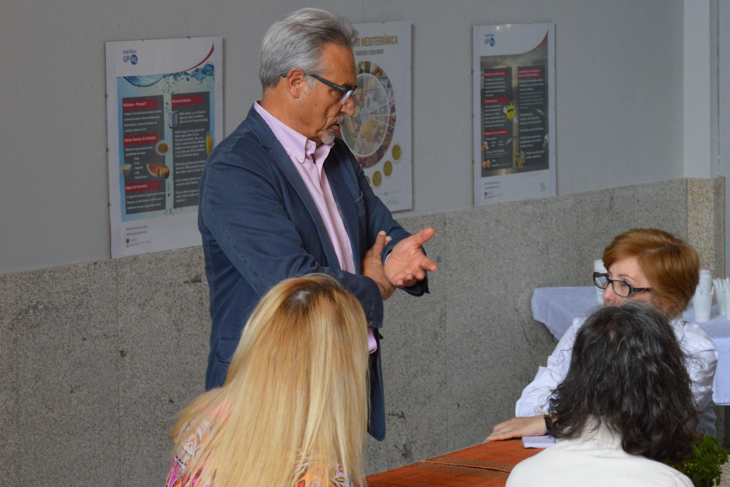 José Manuel Silva é mentor no Coimbra Innovation Days